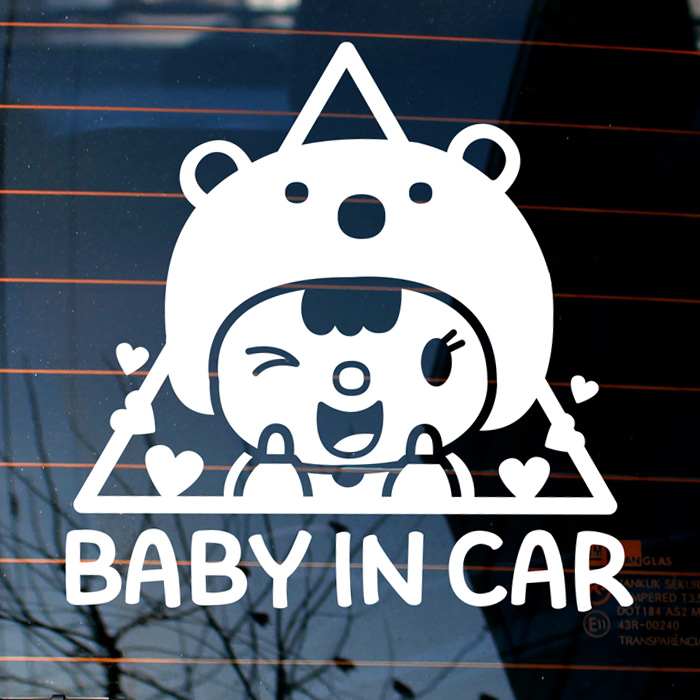 [LSC-682]엠블렘 곰 baby in car