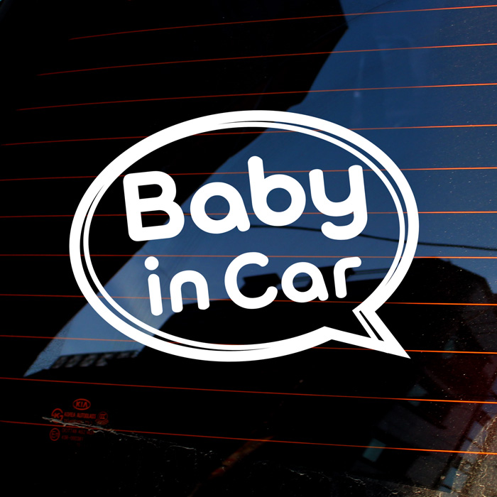 [LSC-714]말풍선 baby in car