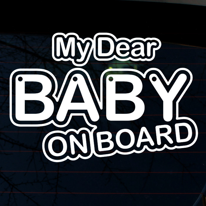 [LSC-890]타이포 my dear BABY ON BOARD